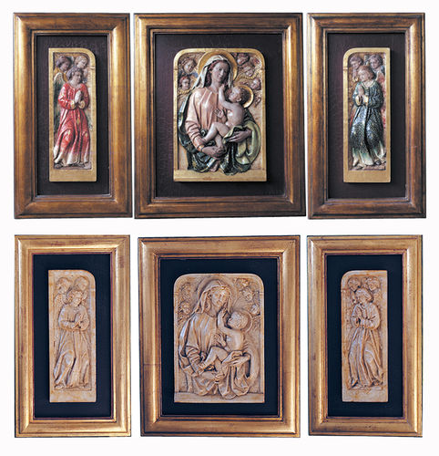Group of Angels Triptych