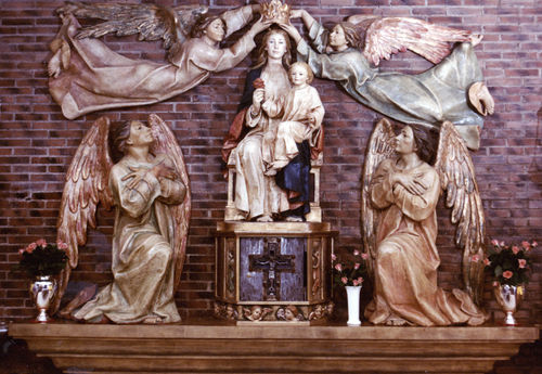 Altarpiece of the coronation